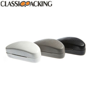 La Chine haut de la qualité de fournisseur de fantaisie Logo estampillé cuir Package Lunettes Les lunettes d'affichage cas