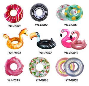 Nuevo diseño anillo de piscina inflable de flotación de la piscina del tubo de juguete de agua