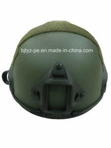 Casque Bulletproof rapide de l'aramide NIJ 0101.06 Iiia militaire certifié (TYZ-ZK-234-006)