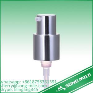 24mmのプラスチッククリームディスペンサーオイルの銀のアルミニウム金属のローションポンプ