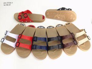 Diseño de última Zapatilla de Mujer Zapatos Zapatos de interior (YG3133-3)