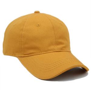 Promoción de algodón en blanco liso gorra de béisbol