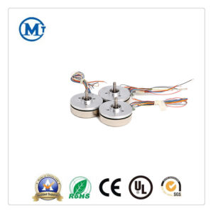 12V 24V CC sin escobillas micro motor DC el rotor exterior