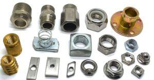 En acier au carbone de l'écrou de roue en acier inoxydable, t l'écrou, l'écrou carré, de la soudure de l'écrou de l'écrou à embase, écrou à ressort