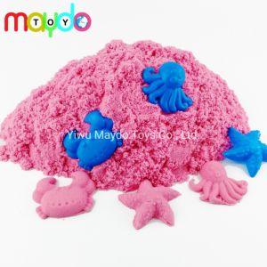 Оптовая торговля розового цвета воспроизведение пространства песок Magic кинетических песок игрушка