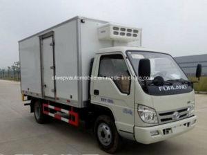 4X2 Forland малых охлажденных Ван 3 тонн в морозильной камере погрузчика