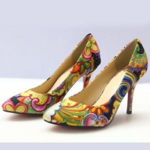 La conception de votre propre Grandes Tailles Mesdames de l'impression de chaussures Chaussures femmes