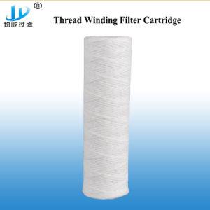 Пластиковый белый или транспарентности PP материала обычный картридж фильтра воды
