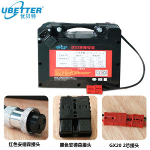 Jerry Silla de ruedas de 24V Batería de ion-litio recargable de Li 24V25Ah