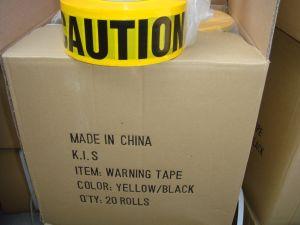 Les bandes d'avertissement Jaune Noir PE Cc-Wt001