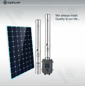 pompe submersible centrifuge sans frottoir de pompe solaire de C.C 1500W