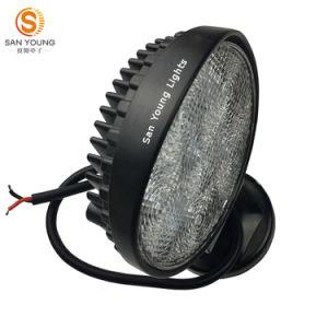 La lumière 18W 27W de travail de l'automobile la meilleur marché DEL 4 pouces