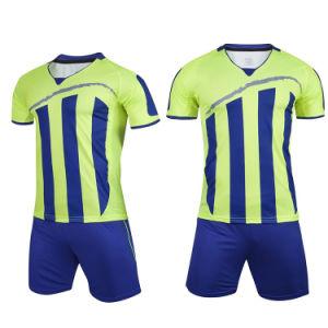 20d53195aec9d 2018 Comercio al por mayor Camisetas de fútbol de la sublimación Completo  conjuntos uniforme