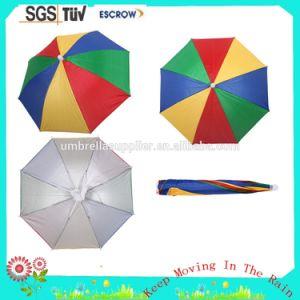 マニュアルの開いた16inch子供のロゴによって印刷される帽子の傘