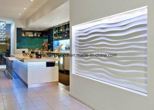 Новая конструкция MDF PU/UV покрытие волны панели