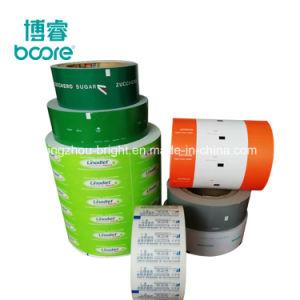 Bolsita de azúcar en la Stick Rollo de papel de embalaje recubierto con PE