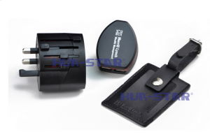 Travel globale Charger con il USB Port per Promotional Gifts (HS-T099DU)