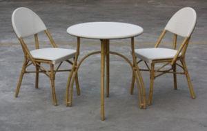 喫茶店の家具のTextileneの屋外の表および椅子