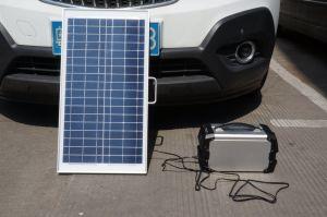 Home Gerador de Energia Solar Sistema de Energia Solar gerador de energia com AC/DC/Saída USB