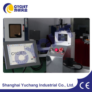 No de lot de codage laser Cycjet Machine