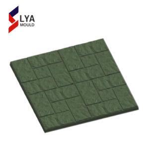 De plastic Vormen van de Steen van de Betonmolen voor Tegel van de Vloer van het Cement de Met elkaar verbindende