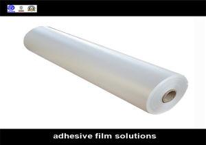 Film transparent auto-adhésif de laminage pour l'étage
