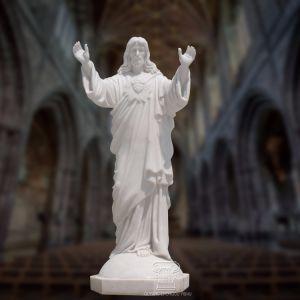 [ريجووس] رخاميّ نحت حجارة ينحت زخرفة يسوع تمثال