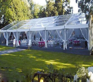 明確なスパンのテントと結婚する屋外の大きい防水アルミニウムフレームのイベント