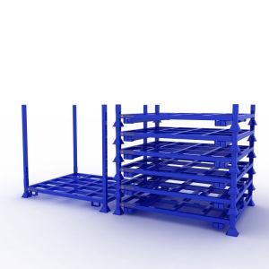 Entrepôt étagère métallique à moitié ouverte pour les outils de rayonnage à palettes