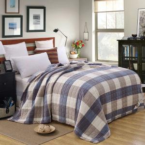 イギリス様式のMicrofiberの羊毛のベッドカバー、ベッド・カバー、Coverlet、ベッドの投球