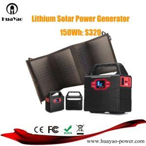 12V 100Wのホーム使用のためのSolar Energy発電機のリチウム発電機