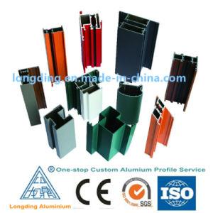 Profil en aluminium extrudé d'alimentation de l'usine de matériaux de construction en aluminium