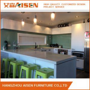 2017 de Nieuwe MDF Keukenkast van de Lak van Handless van de Raad