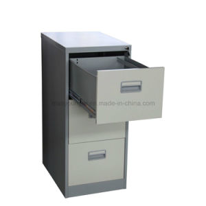 Mobiliário utilitário 3 gaveta mesa de cabeceira de segurança metálicas de aço Armário para armazenamento de arquivos com fechadura com chave