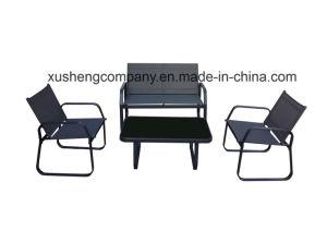 Mesa y silla de acero al aire libre Muebles de Comedor