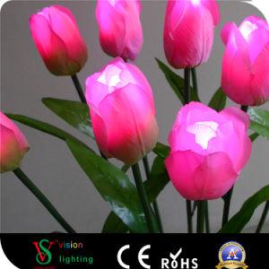 De Lichten van de LEIDENE Bloem van de Tulp voor de Decoratie van de Tuin