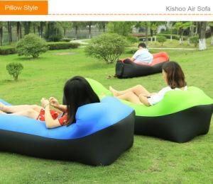 2018 Produtos de exterior de tendência Fast Ar inflável Sofá-Cama Boa qualidade de Saco de Dormir Saco de ar infláveis Lazy Bag Beach Sofá Laybag