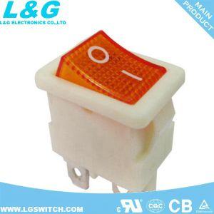 램프를 가진 의료 기기 힘 Dpst 로커 스위치