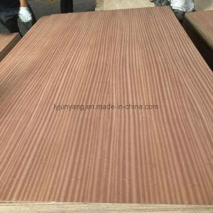 Sapele Sapeli enchapado de madera contrachapada para el diseño de la puerta