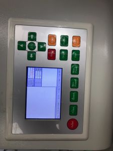 고무 또는 수지 널을%s 표준 이산화탄소 CNC Laser 절단 장비