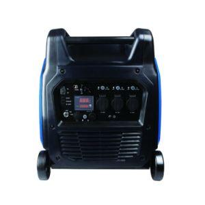 5.5kw小型小さい無声ガソリン電気のホーム使用の発電機