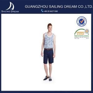 Pantaloni di Shorts su ordine del cotone diritto di svago di modo