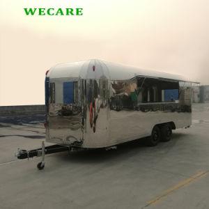 熱い販売のステンレス鋼の食糧トレーラー