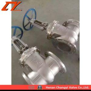 CF8 acero inoxidable de alta presión válvula de compuerta de barro