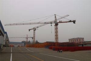 10t de la fábrica China Hsjj Ce Topkit QTZ grúa torre (6018)