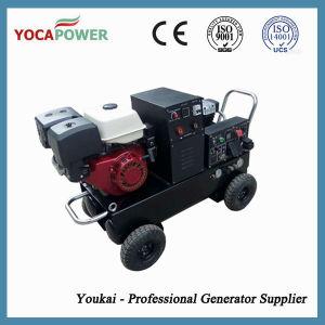 Beweglicher elektrischer Treibstoff-industrieller Generator mit Schweißer und Aircompressor