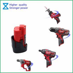 На заводе настраиваемые инструменты высокого качества сменный аккумулятор для Милуоки M12