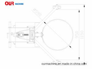 工場製造者手動手のドラムハンドラDtf450b