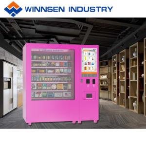 Tela sensível ao toque de 22 polegadas Mini-Mart quiosque de venda de vinho com sistema de elevação do elevador