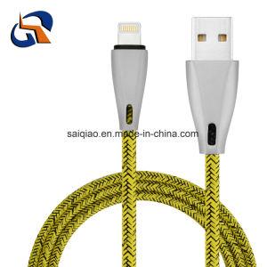 Legierungs-Blitz-aufladendaten-Kabel des Zink-USB2.0 für iPhone